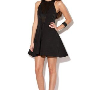 NWT CAMEO ANOTHER DAY BLACK MESH DRESS